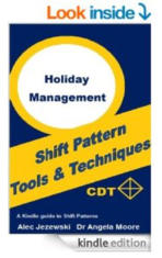book about holiday management and planning
