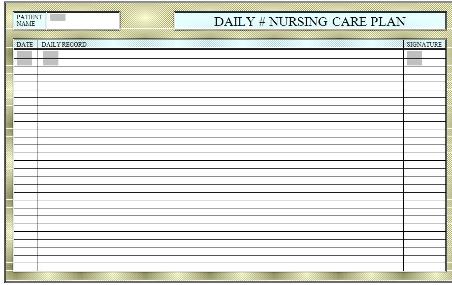 Care check lists for patients in hospitals and nursing for Us magazine address change